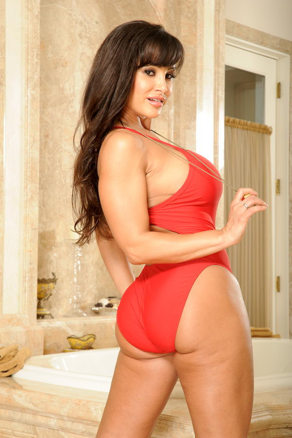 Swimsuit lisa ann